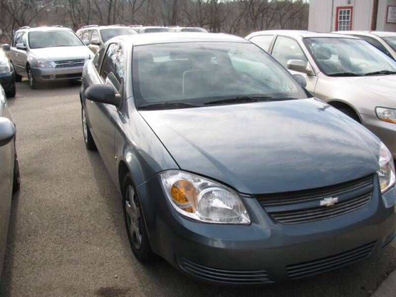 2007 Chevrolet Cobalt for sale at TRAIN STATION AUTO INC in Brownsville PA