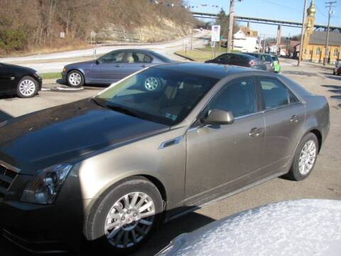 2010 Cadillac CTS for sale at TRAIN STATION AUTO INC in Brownsville PA