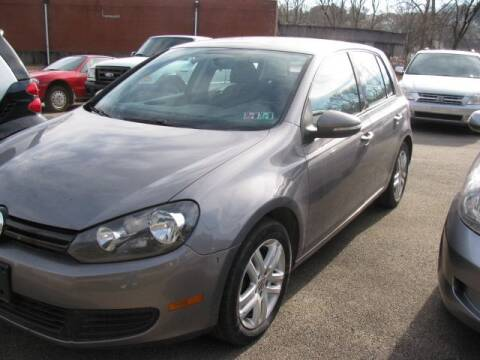 2010 Volkswagen Golf for sale at TRAIN STATION AUTO INC in Brownsville PA