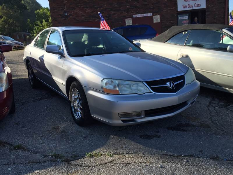 Acura TL In Charleston WV Budget Preowned Auto Sales - 2003 acura tl for sale