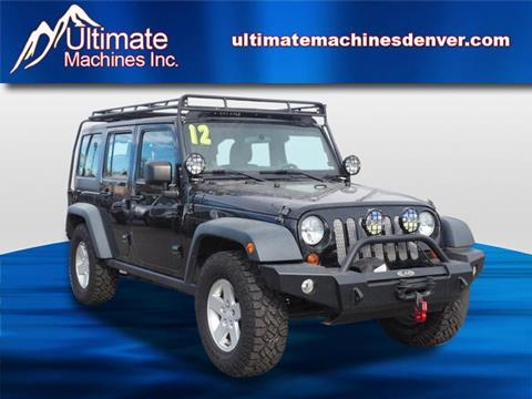used 2012 jeep wrangler for sale in colorado. Black Bedroom Furniture Sets. Home Design Ideas