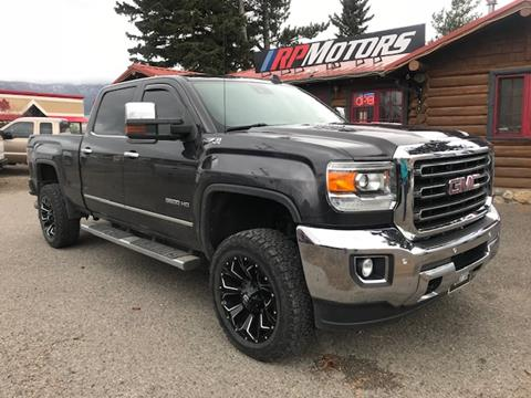 2015 GMC Sierra 3500HD for sale in Livingston, MT