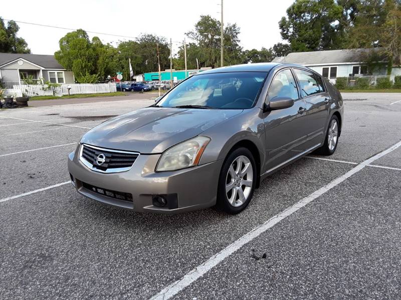 2008 Nissan Maxima For Sale At GF Truck U0026 Auto Sales In Jacksonville FL