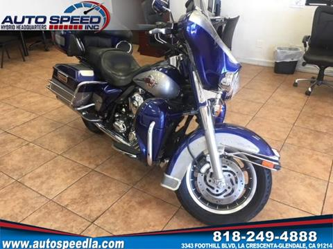 2007 Harley-Davidson Ultra Classic Electra Glide for sale in La Crescenta, CA