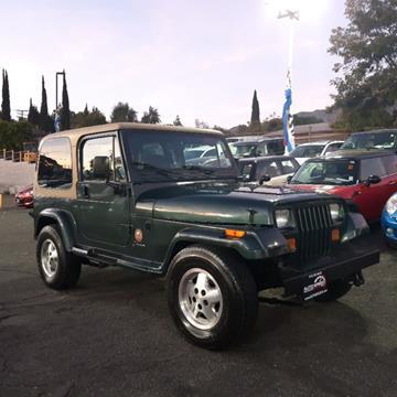 1993 Jeep Wrangler for sale in La Crescenta, CA