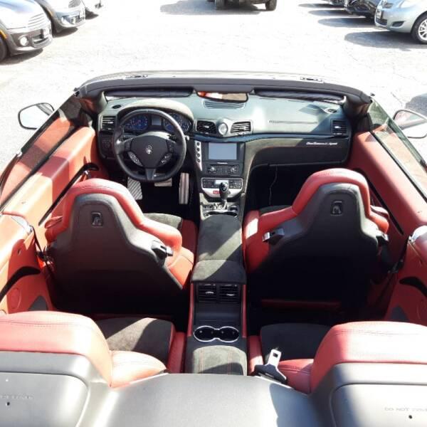 2016 Maserati GranTurismo MC 2dr Convertible - La Crescenta CA