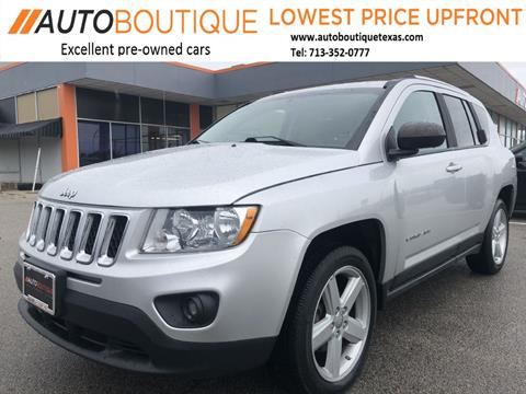 2012 Jeep Compass for sale in Houston, TX