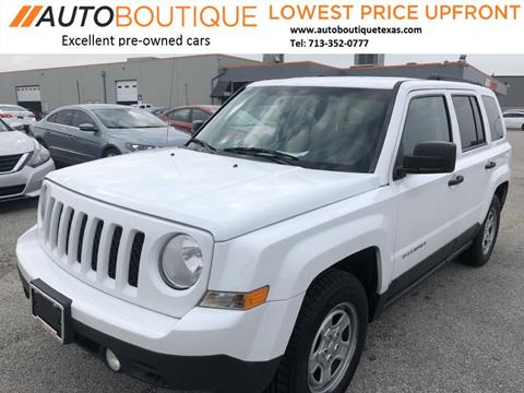 2013 Jeep Patriot for sale in Houston, TX