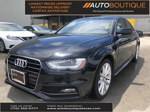 2016 Audi A4 for sale in Houston, TX