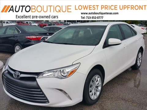 Used 2017 Toyota Camry For Sale Carsforsale Com