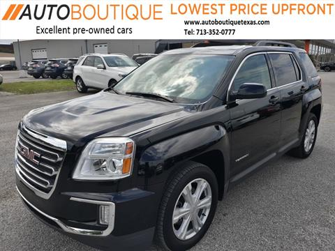 2017 GMC Terrain for sale in Houston, TX