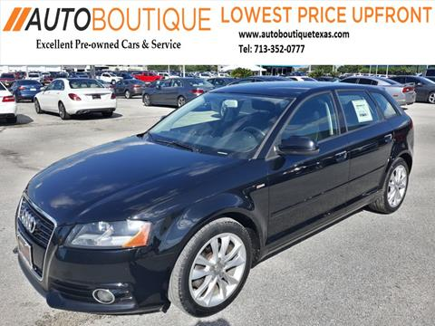 2012 Audi A3 for sale in Houston, TX