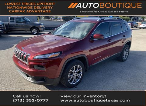 2018 Jeep Cherokee for sale in Houston, TX