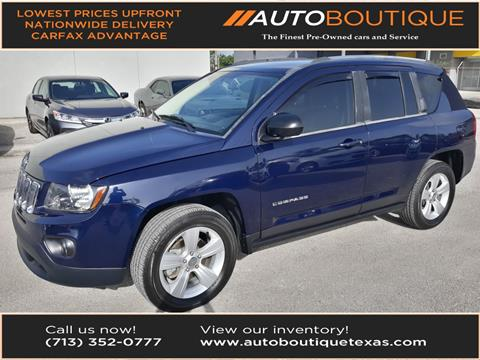 2014 Jeep Compass for sale in Houston, TX
