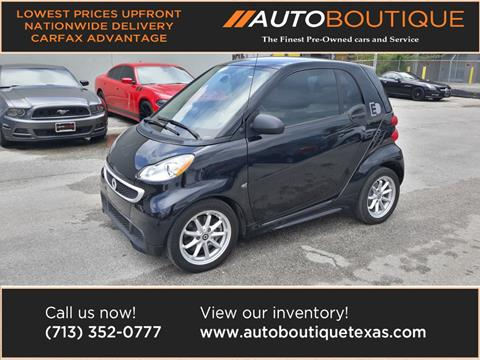 2016 Smart fortwo electric drive for sale in Houston, TX