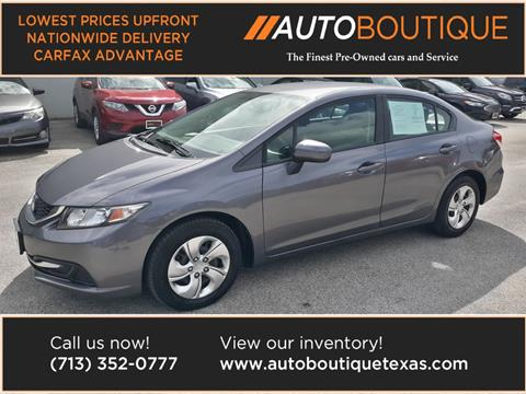 2015 Honda Civic for sale in Houston, TX