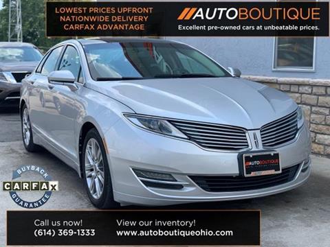 2013 Lincoln Mkz For Sale >> Lincoln Mkz For Sale In Houston Tx Auto Boutique