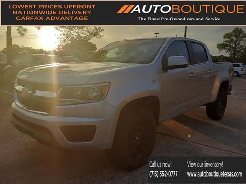 2016 Chevrolet Colorado for sale in Houston, TX