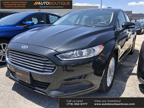 2015 Ford Fusion Hybrid for sale in Houston, TX