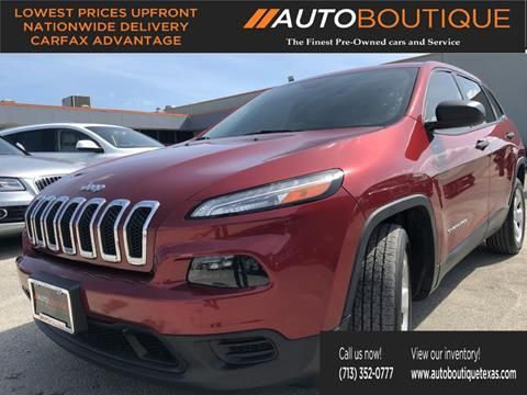 2015 Jeep Cherokee for sale in Houston, TX