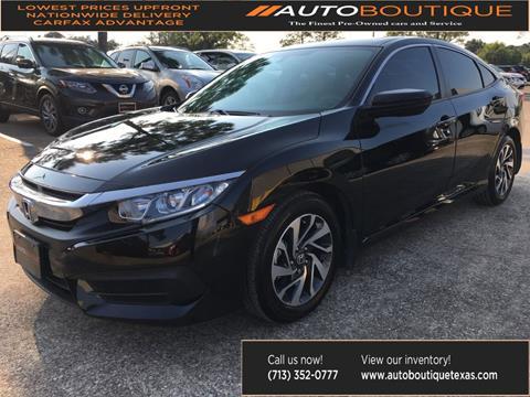 2018 Honda Civic for sale in Houston, TX