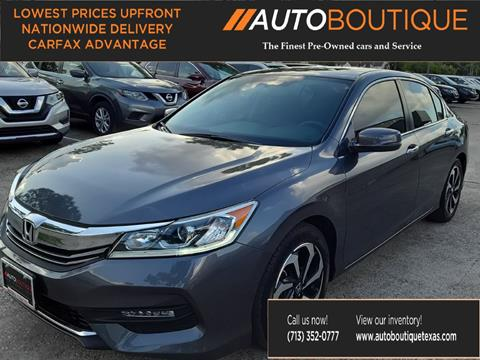 2016 Honda Accord for sale in Houston, TX