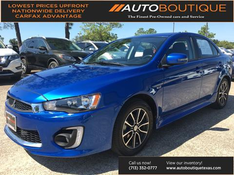2017 Mitsubishi Lancer for sale in Houston, TX