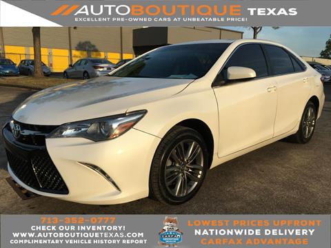 2017 Toyota Camry for sale in Houston, TX