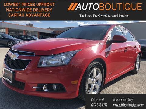2014 Chevrolet Cruze for sale in Houston, TX