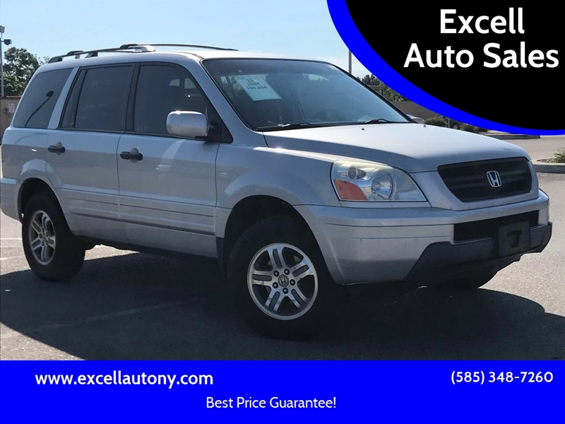 2004 Honda Pilot For Sale At Excell Auto Sales In Rochester NY