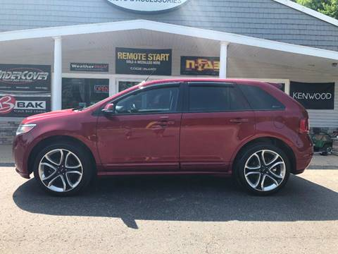 2014 Ford Edge for sale at Stans Auto Sales in Wayland MI