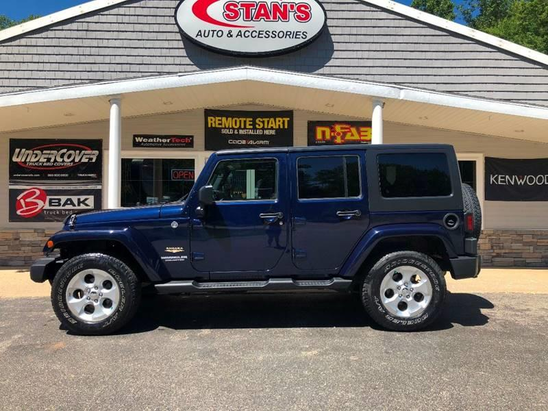 2013 Jeep Wrangler Unlimited for sale at Stans Auto Sales in Wayland MI