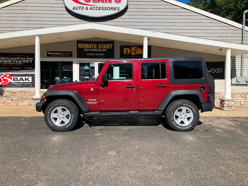 2011 Jeep Wrangler Unlimited for sale at Stans Auto Sales in Wayland MI