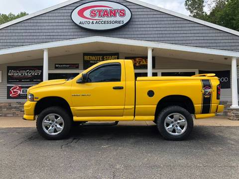 2005 Dodge Ram Pickup 1500 for sale at Stans Auto Sales in Wayland MI