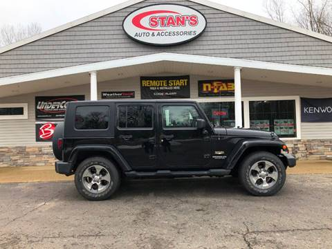 2009 Jeep Wrangler Unlimited for sale at Stans Auto Sales in Wayland MI