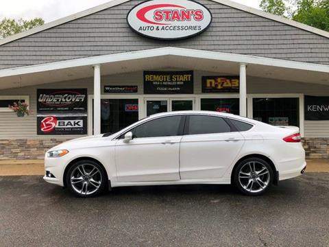 2013 Ford Fusion for sale at Stans Auto Sales in Wayland MI