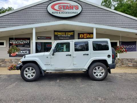 2012 Jeep Wrangler Unlimited for sale at Stans Auto Sales in Wayland MI