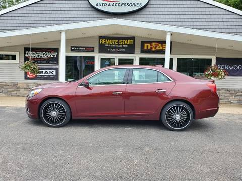 2016 Chevrolet Malibu Limited for sale at Stans Auto Sales in Wayland MI