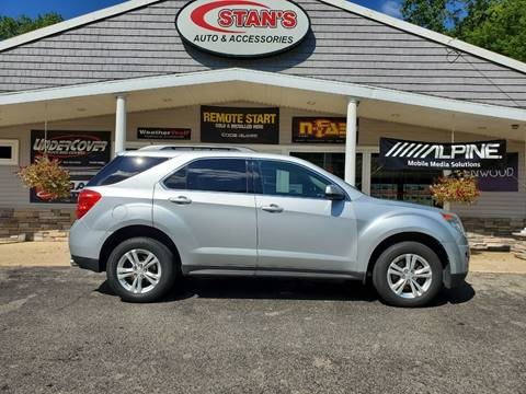 2012 Chevrolet Equinox for sale at Stans Auto Sales in Wayland MI
