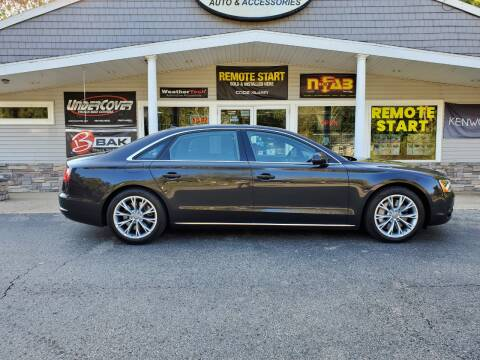 2012 Audi A8 L for sale at Stans Auto Sales in Wayland MI