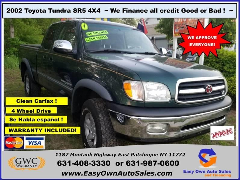2002 Toyota Tundra For Sale At Easy Own Auto Sales In East Patchogue NY
