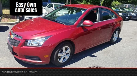 2012 Chevrolet Cruze for sale in East Patchogue, NY