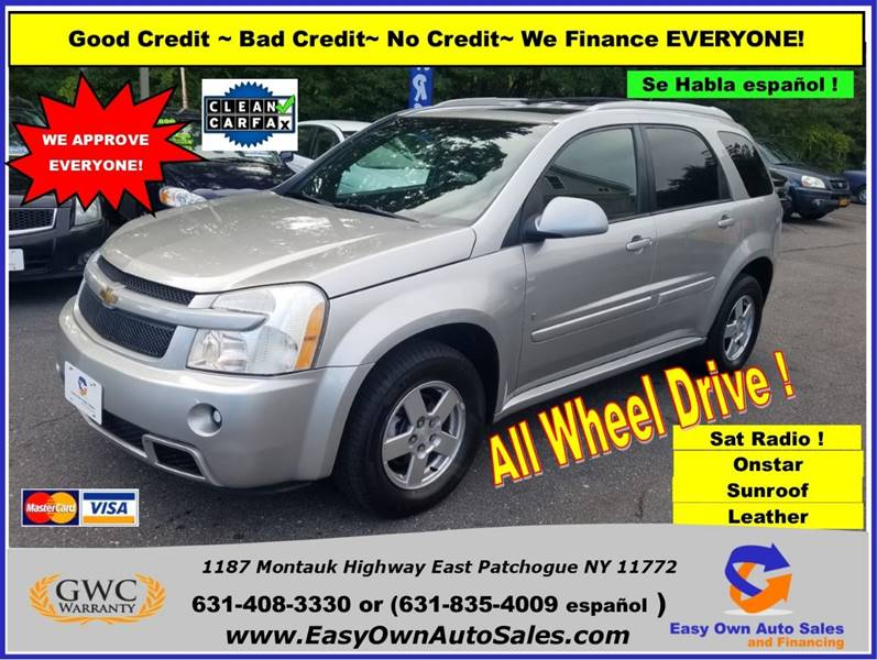 2008 Chevrolet Equinox Sport In East Patchogue Ny Easy Own Auto Sales