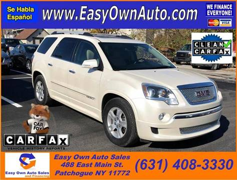 2012 GMC Acadia for sale in Patchogue, NY