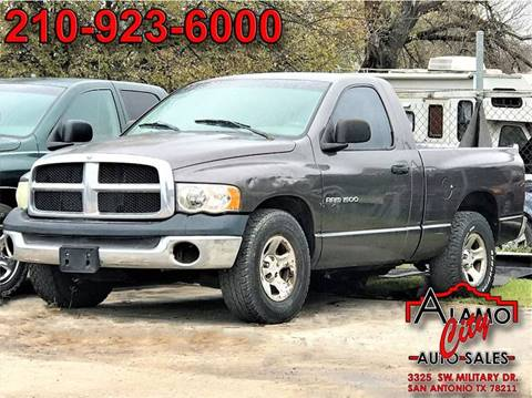 2003 dodge ram pickup 1500 for sale in san antonio tx. Black Bedroom Furniture Sets. Home Design Ideas