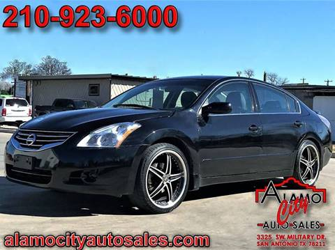 2012 nissan altima for sale in san antonio tx. Black Bedroom Furniture Sets. Home Design Ideas