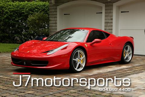 Ferrari 458 Italia For Sale in Florida - Carsforsale.com
