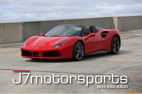 2019 Ferrari 488 Spider for sale in Jacksonville, FL