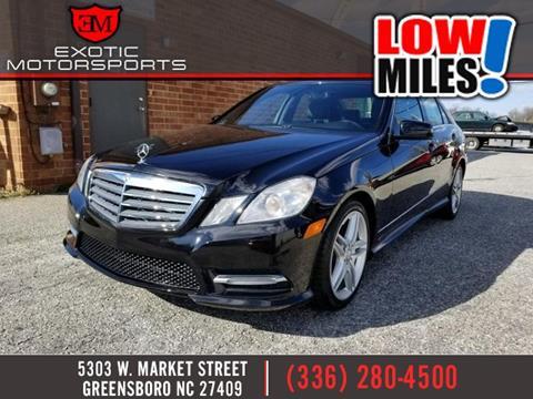Mercedes benz e class for sale in greensboro nc for Mercedes benz of greensboro greensboro nc