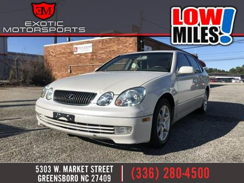 2004 Lexus GS 300 for sale in Greensboro, NC